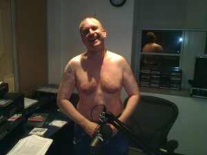 Andy gets into the Radiothon spirit